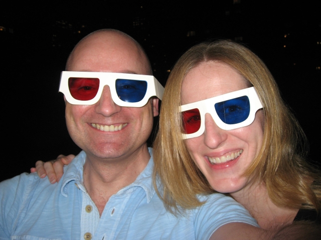 Maggie and Me in 3-D!