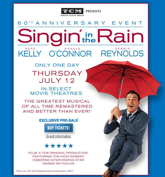 Singin in the rain essays