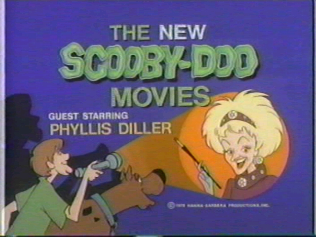 the character of    Phyllis Diller    on The New Scooby Doo Movies    New Scooby Doo Movies