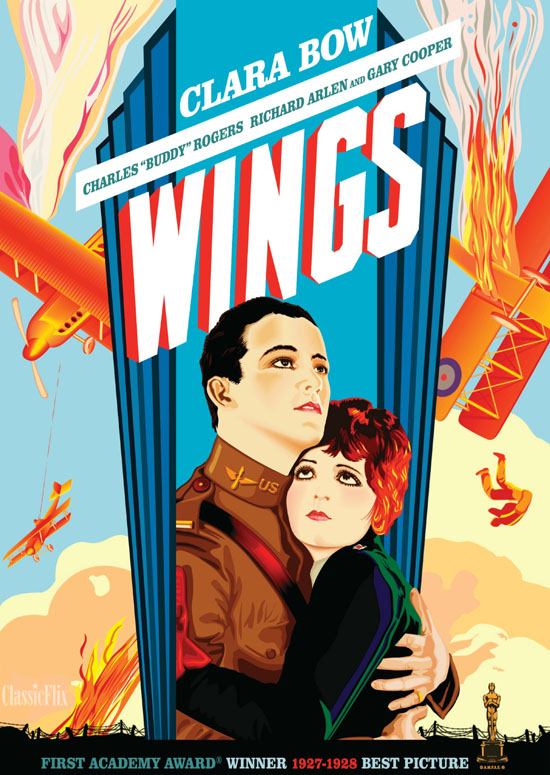 the restoration of wings 1927 the loudest silent movie