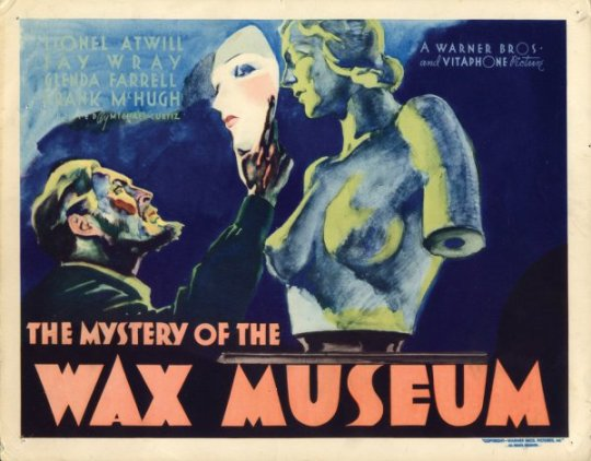 Mystery of the Wax Museum (1933)-poster