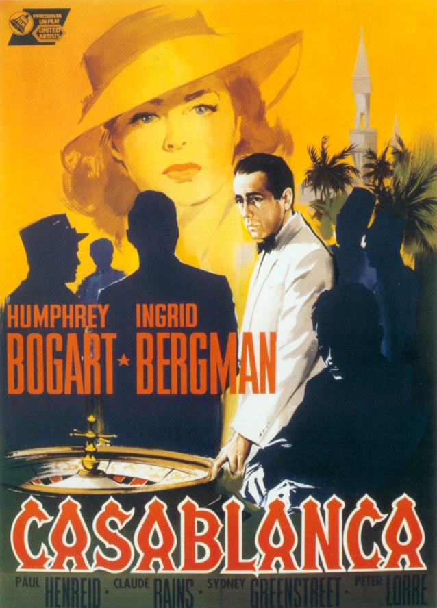 Casablanca vs to have and have not cinematically insane for Poster casablanca