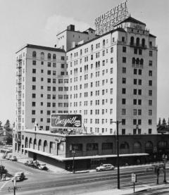 1949, Hollywood Roosevelt Hotel