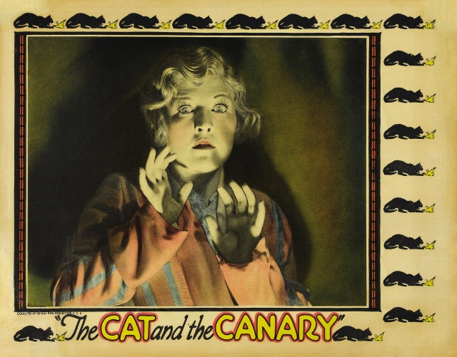 Poster - Cat and the Canary, The (1927)_02