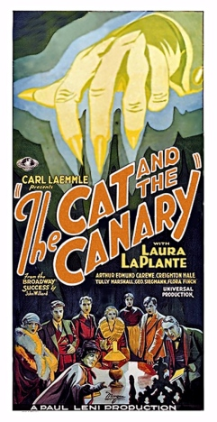 Poster - Cat and the Canary, The (1927)_03