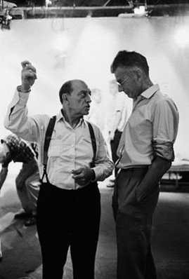 Notfilm4.Buster Keaton and Samuel Beckett on set of Film