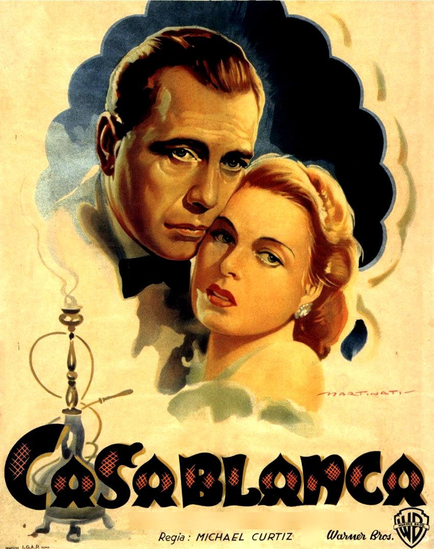 Update 2 you pick the cities for tcm s nationwide screenings of casablanca cinematically insane for Poster casablanca