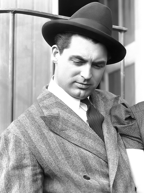 The man who discovered katharine hepburn cinematically for Cary grant first movie