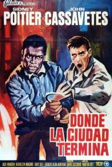 DONDE LA CIUDAD TERMINA - Edge of the City - 1957