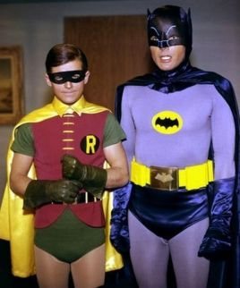 Adam West and Burt Ward in Batman 60s series pic2