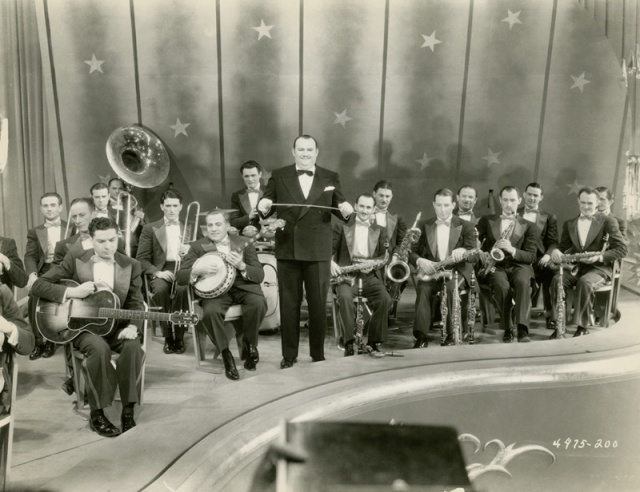 Paul Whiteman and his band