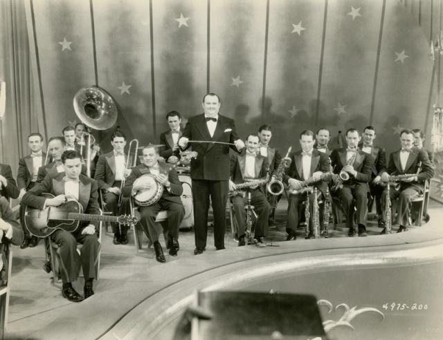 Paul Whiteman and his band