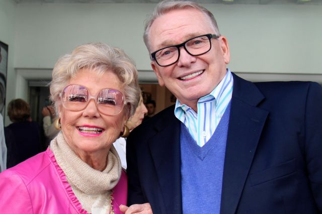Mitzi Gaynor and Bob Mackie at the 2014 TCM Classic Film Festival (Photo by Will)