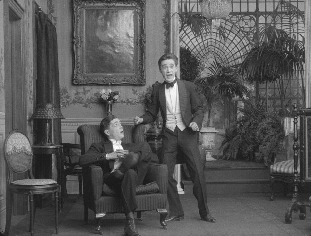 Edward Boulden and Arthur Housman in JACK'S JOKE (1913)